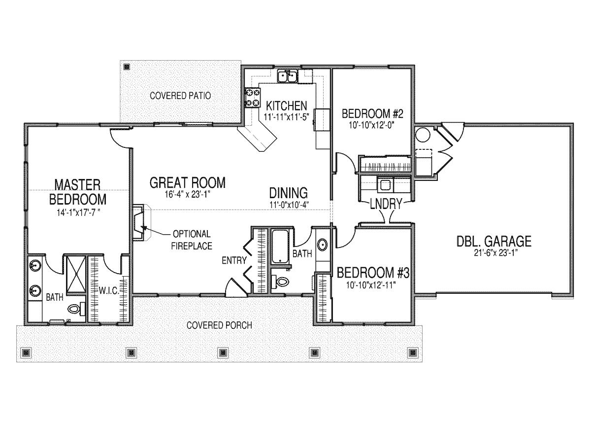 Garage Floorplans | Floorplans New Era Homes